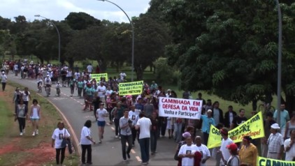 Ato em Defesa da Vida – Brasília 2012