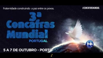 Um mundo melhor é um mundo colaborativo: 3ª Concafras Mundial 2018 – Portugal