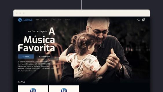 Lançamento novo site da TV Mundial de Espiritismo
